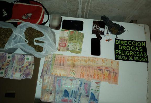 Narcomenudeo: desbarataron un kiosco narco en Garupá y hay dos detenidos