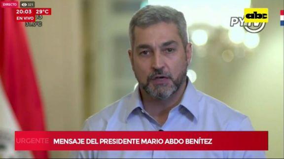 El presidente de Paraguay hará cambios en su gabinete tras protestas con violencia y represión