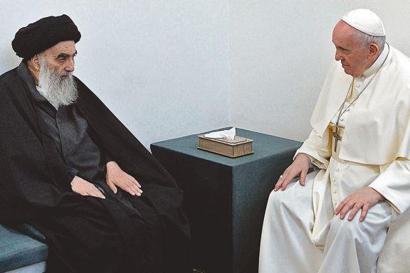 Inédita reunión entre Francisco y el gran ayatollah Ali Al Sistani