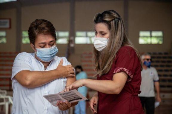 Llegaron más vacunas Sinopharm para dar la segunda dosis a los ya vacunados