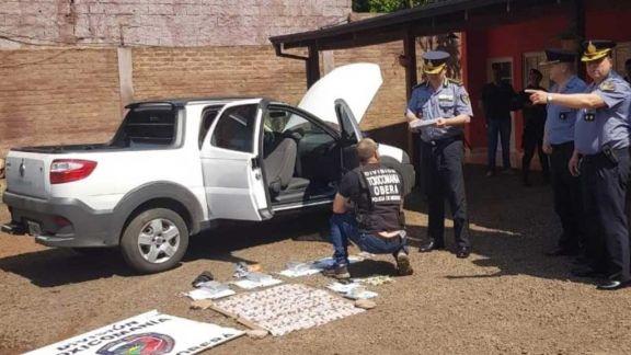 Al menos 3 policías serán procesados por el robo de un kilo de cocaína