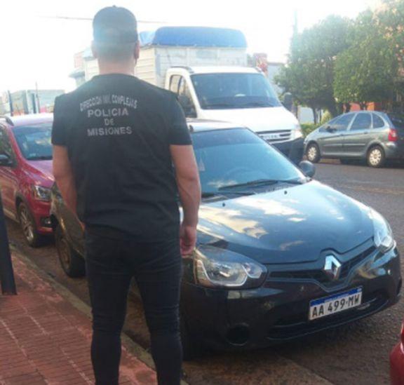 Ladrones del Clio están acusados de importante hurto en Eldorado