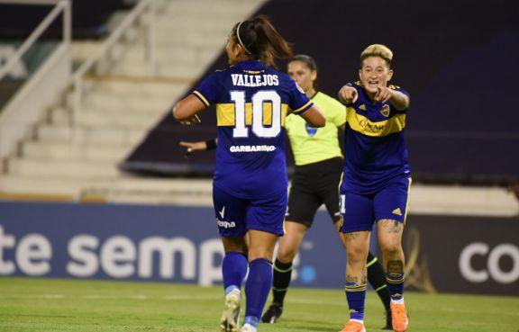 Con hat trick de Yamila, Boca arrasó por 10 a 1 en la Copa Libertadores