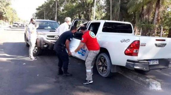 Exigen renuncia del ministro de Salud correntino tras accidente cuando trasladaba vacunas