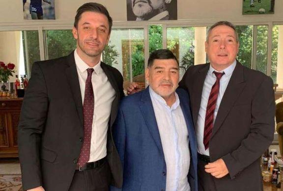 Matías Morla reapareció en las redes y atacó a Dalma y Gianinna Maradona