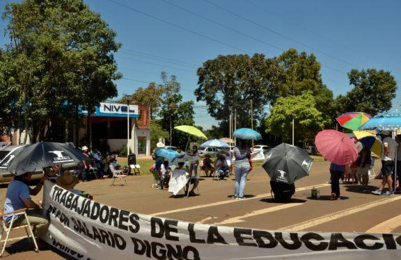 Manifestantes levantaron el corte de la ruta 12, que está liberada al tránsito