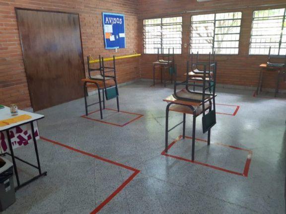 Paraguay: suspenderán clases presenciales en zonas de alto contagio de Covid-19