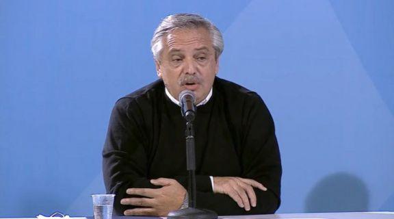 """Alberto Fernández: """"Nosotros queremos la vacuna para todos"""""""
