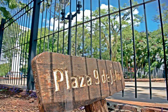 Historia y presente de la plaza 9 de Julio