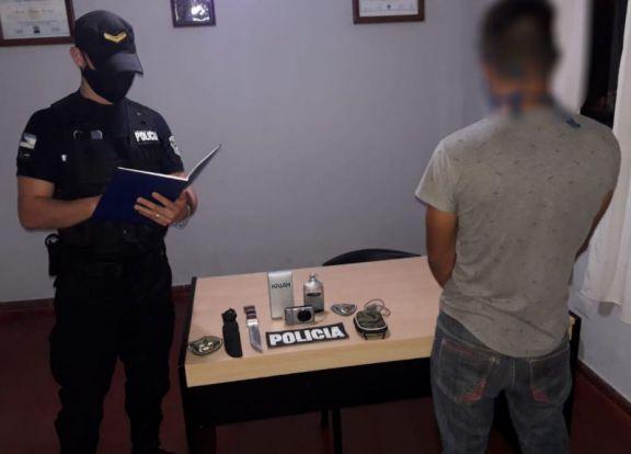 Le robó a su vecino y fue detenido en San Vicente