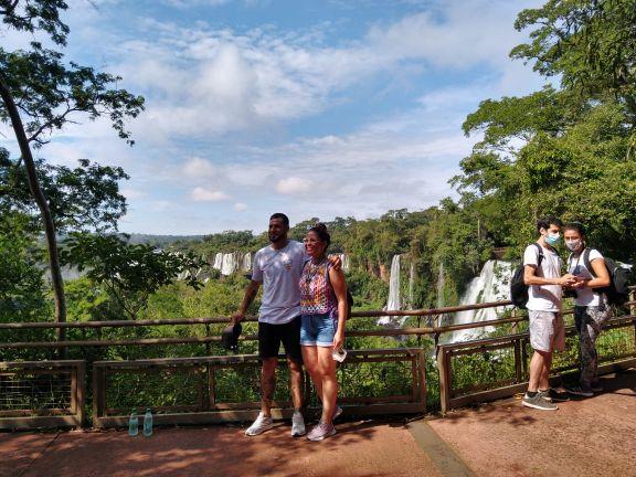 Cataratas: Ampliaron el cupo de visitantes a 5.000 diarios, durante la Semana Santa