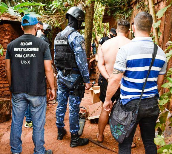 Involucrados en el robo de 20 aires volvieron a ser detenidos