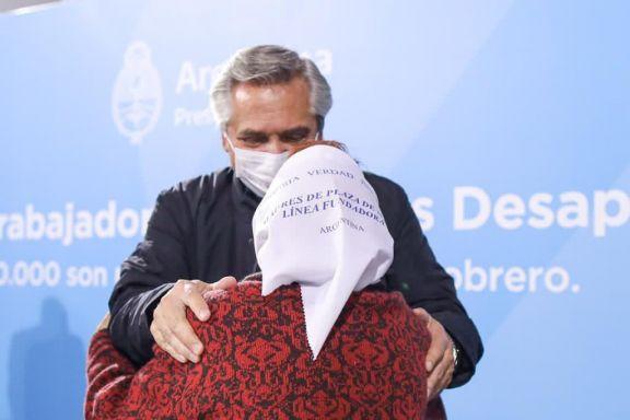 """Fernández recordó a las víctimas del terrorismo de Estado y pidió """"castigo"""" para los responsables"""