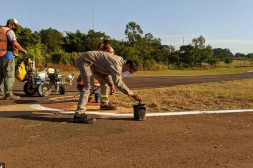 Realizan tareas de mantenimiento en el autódromo de Posadas