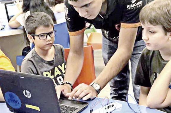 Escuela de Robótica: inscriben para el espacio  Maker en Cerro Azul