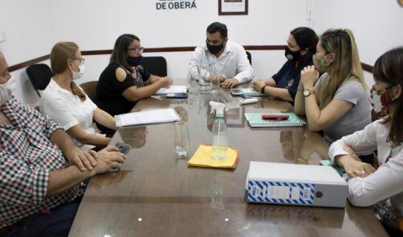 Se realizan reuniones para controles durante Semana Santa en Oberá
