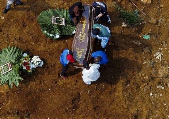 Brasil marcó otro récord con 3.650 muertos por coronavirus en un día