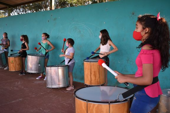 Percusión con igualdad de género