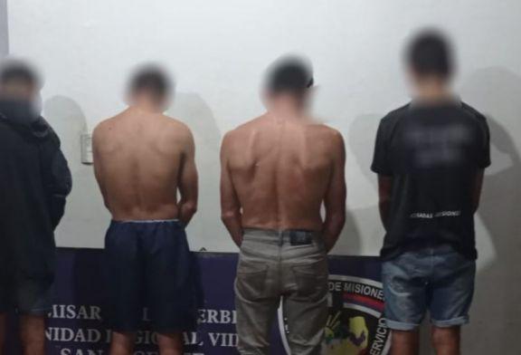 Cuatro hombres detenidos por el robo de un animal vacuno en El Soberbio