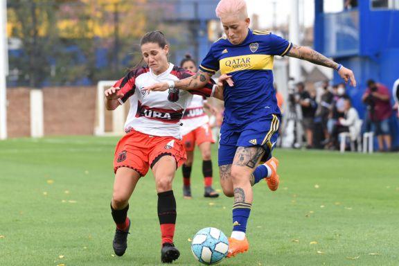 Doblete de Yamila Rodríguez en la goleada de Boca ante Defensores de Belgrano