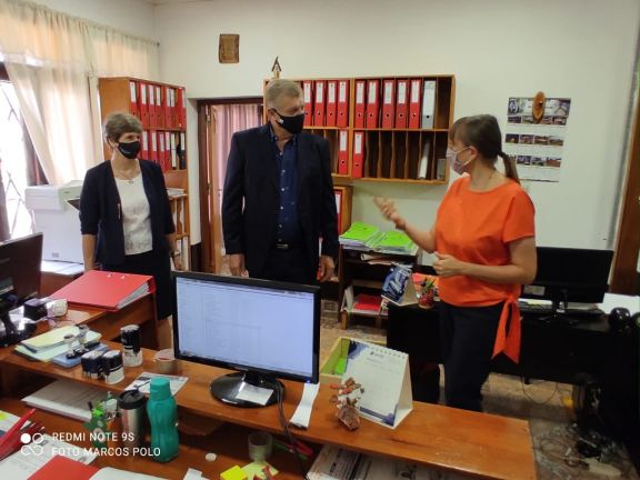 La embajadora de Polonia en Argentina se reunió con autoridades de Wanda