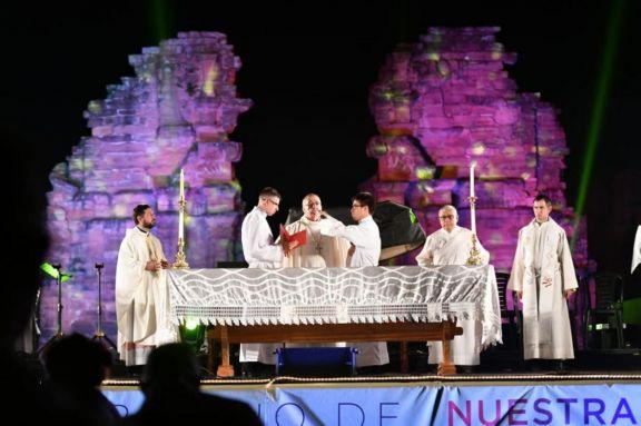 La Misa Popular de las Misiones será televisada por Canal 12 y la TV Pública