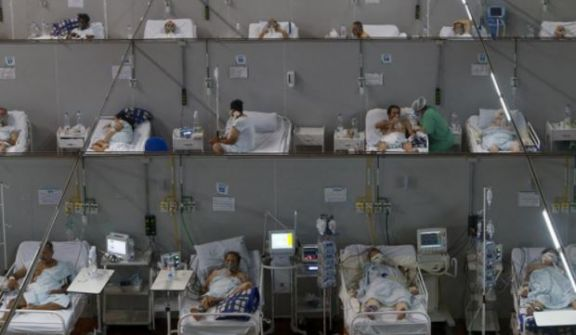 La mayoría de los estados de Brasil tiene una ocupación hospitalaria superior al 90%