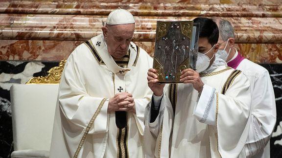 El papa Francisco renunció al lavado de pies del Jueves Santo