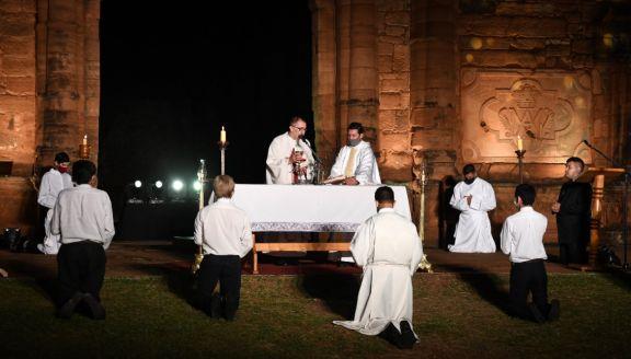 Se celebró la Misa Popular de las Misiones en las reducciones de San Ignacio