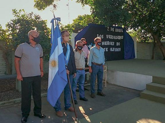 Ituzaingó rindió homenaje a sus veteranos y caídos en la guerra de Malvinas
