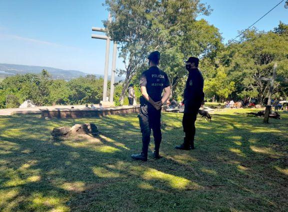 Sin actividades religiosas llegaron peregrinos al Cerro Monje