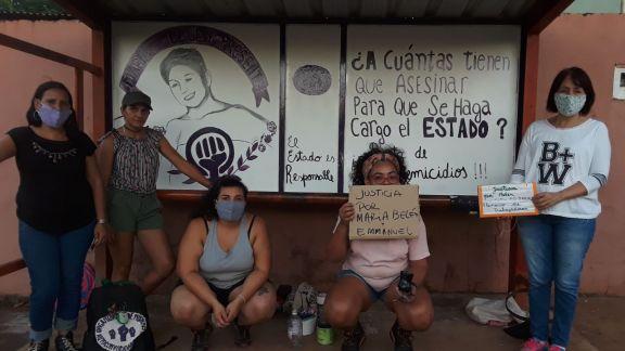 Recordaron a María Belén Rivas, asesinada hace 4 años en Puerto Iguazú