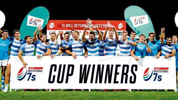 Los Pumas Seven, campeones en Dubai