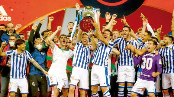 Real Sociedad se quedó con la Copa del Rey