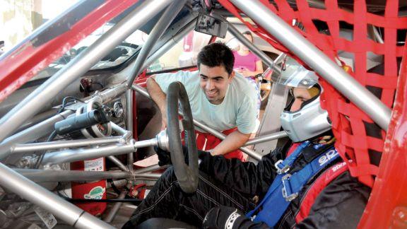 Intensas pruebas de Pista y Karting en el Rosamonte