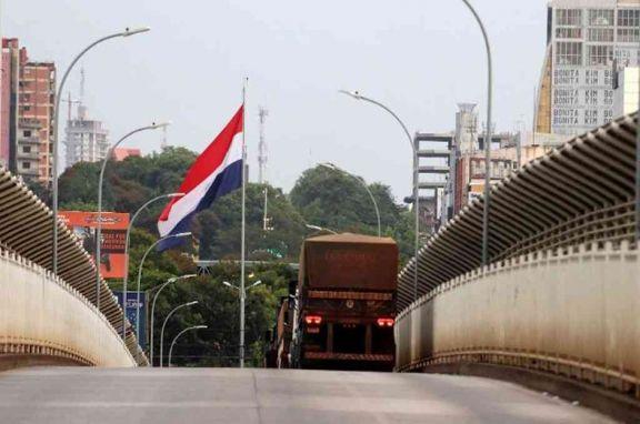 Paraguay con circulación restringida hasta el 12