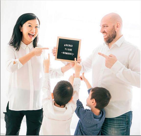 Karina reveló cómo eligieron el nombre para su nuevo hijo