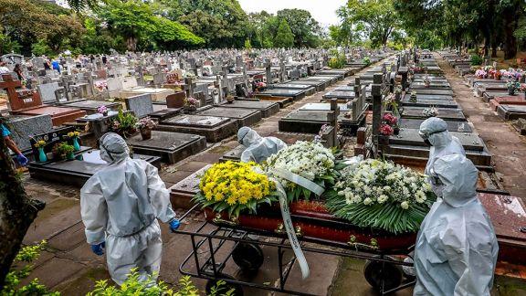 Más de 13 millones de casos en Brasil y Río y San Pablo retoman algunas actividades