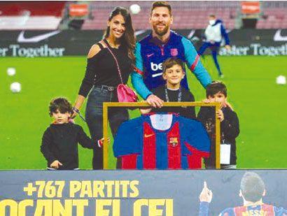 Agónica victoria del Barsa de Messi, que le pisa los talones al Aleti