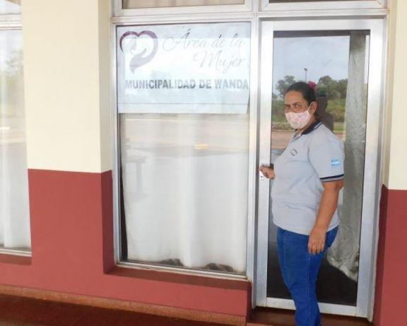 Activa participación desde el área municipal de la Mujer de Wanda en casos de violencia