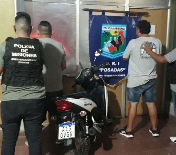 Detuvieron a los presuntos motochorros de millonario robo en Posadas