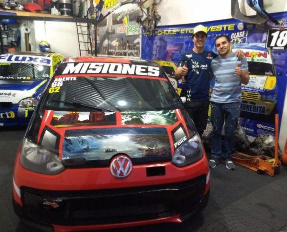 Juan Pablo Abente cambió de equipo en la  Clase 2 del Turismo Pista