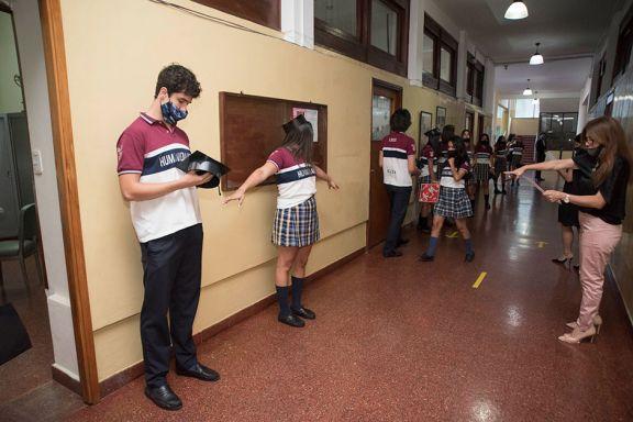 Insisten con la necesidad de cumplir a rajatabla los protocolos en escuelas