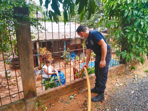 Bomberos de otras comunas suman su ayuda a Puerto Iguazú
