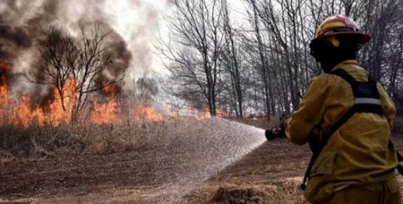 Advertencia nivel amarilla por peligrosidad de incendios en Posadas