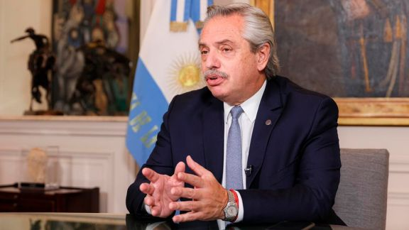 """Fernández: """"No me importa el resultado de una elección; me importa que los argentinos no se mueran"""""""