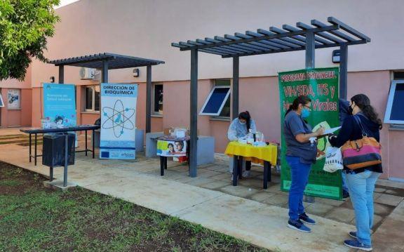 En un día se realizaron 40 testeos rápidos para VIH y Hepatitis B en el hospital de Itaembé Guazú