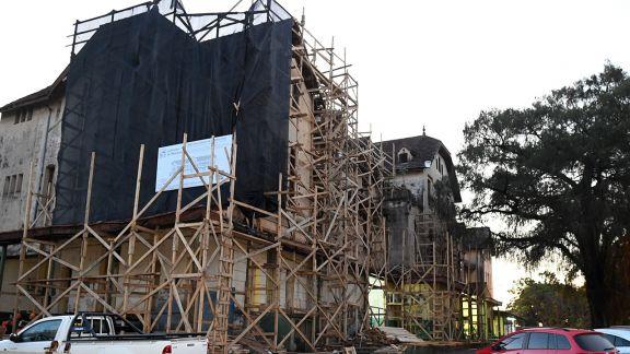 Iniciaron las remodelaciones del antiguo hospital de Posadas