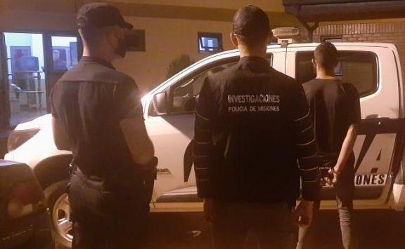 Homicidio en San Vicente: detuvieron a un prófugo tras el asesinato