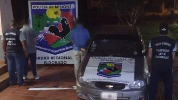 Detuvieron a padre e hijo buscados por un homicidio en Eldorado